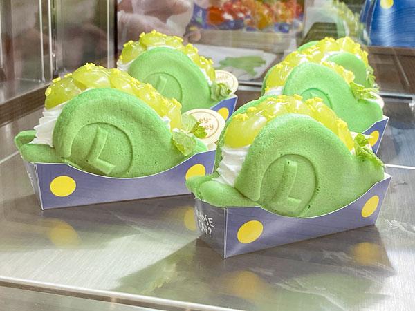 ルイージの帽子~ぶどうのレアチーズケーキ~