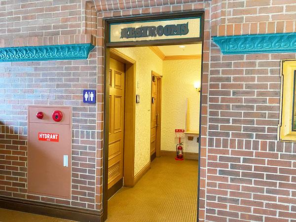 【USJマスクフリーゾーン】ロンバーズランディングのトイレ