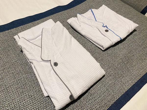 クインテッサホテル大阪ベイのパジャマ(ナイトウェア)