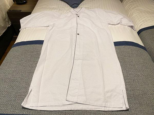 クインテッサホテル大阪ベイのパジャマ