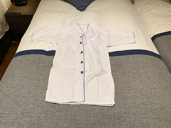 クインテッサホテル大阪ベイの子ども用パジャマ