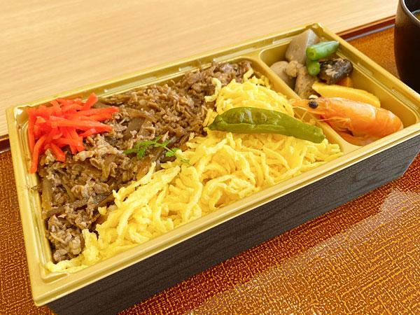 【シンギュラリホテル朝食】牛ちらし寿司