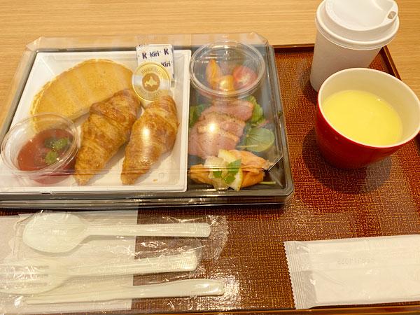 【シンギュラリホテル朝食】DYIサンドセット