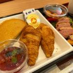 シンギュラリホテルのワンプレート朝食セット(サンドイッチ)