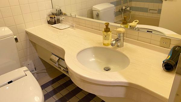 【ホテルシーガルてんぽーざん大阪】洗面所