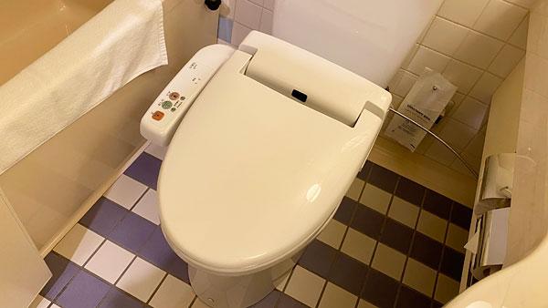 【ホテルシーガルてんぽーざん大阪】トイレ