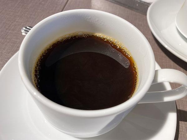 ホットコーヒー【クインテッサホテル大阪ベイの朝食ブッフェ】