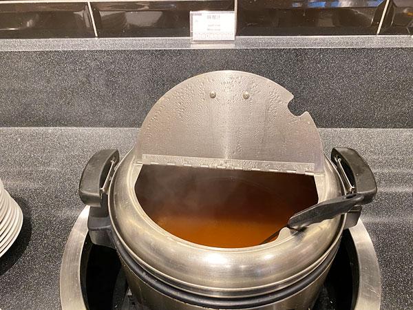味噌汁【クインテッサホテル大阪ベイの朝食ブッフェ】