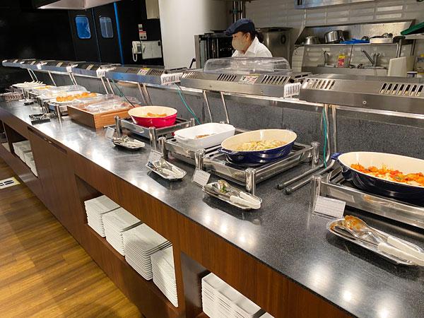 洋食コーナー【クインテッサホテル大阪ベイの朝食ブッフェ】