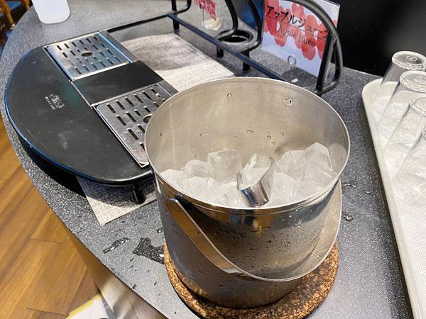 氷【クインテッサホテル大阪ベイの朝食ブッフェ】