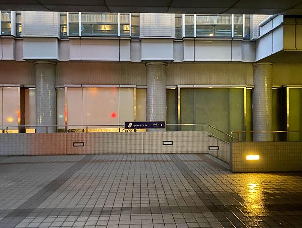 ハイアットリージェンシー大阪駐車場からクインテッサホテル大阪ベイまでのルート