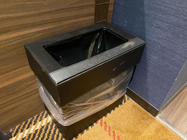 【クインテッサホテル大阪ベイ】部屋のゴミ箱