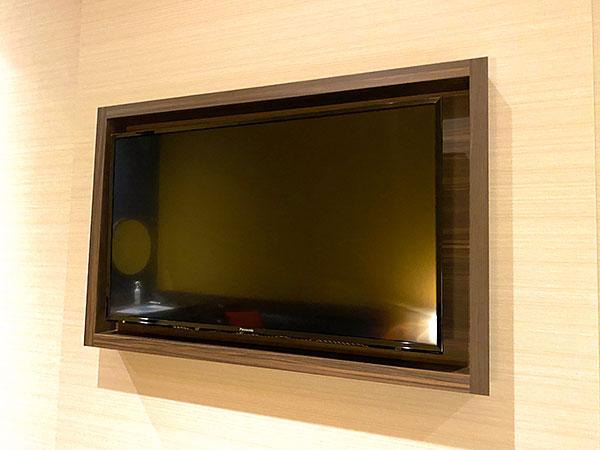 【クインテッサホテル大阪ベイ】部屋のテレビ