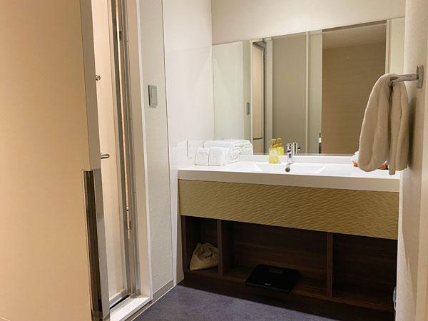 【クインテッサホテル大阪ベイ】洗面所