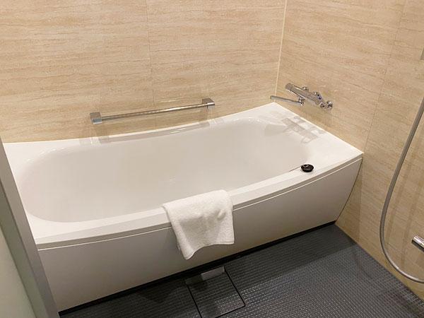 【クインテッサホテル大阪ベイ】浴槽