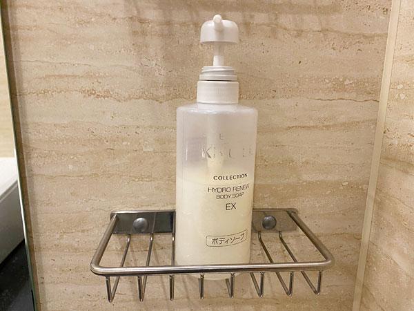【クインテッサホテル大阪ベイ】浴室のボディソープ