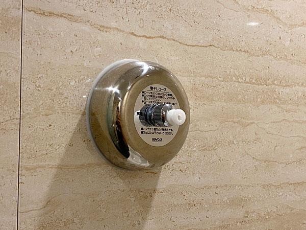【クインテッサホテル大阪ベイ】浴室の物干しロープ