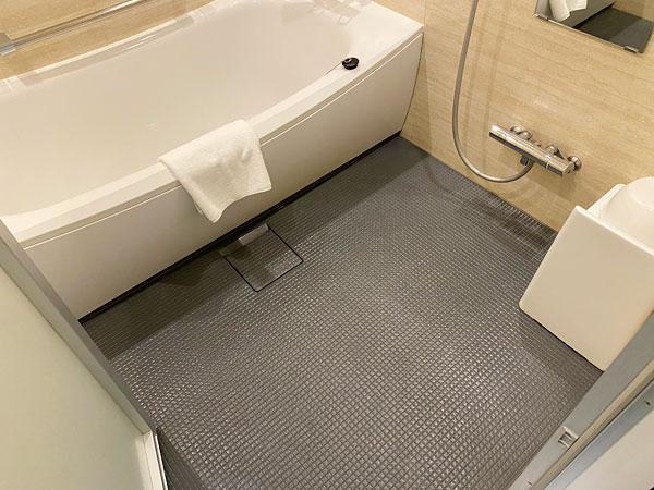 【クインテッサホテル大阪ベイ】お風呂の洗い場