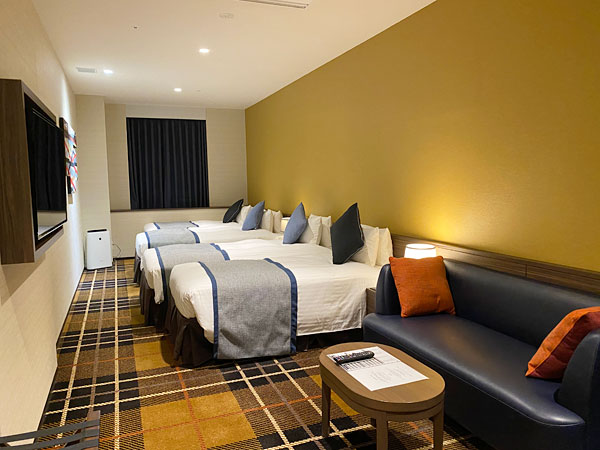 【クインテッサホテル大阪ベイ】部屋の写真