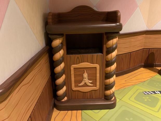 キノピオカフェのゴミ箱