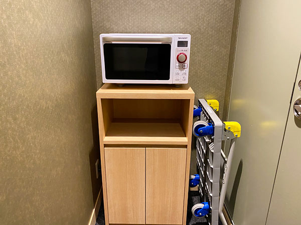 【ABホテル堺東】電子レンジ