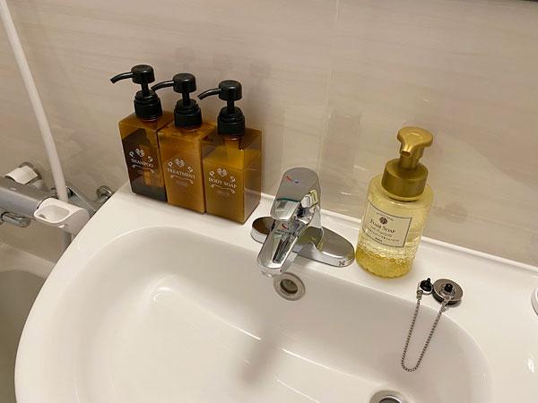 【ABホテル】洗面台