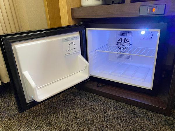 【ABホテル堺東】冷蔵庫の中身