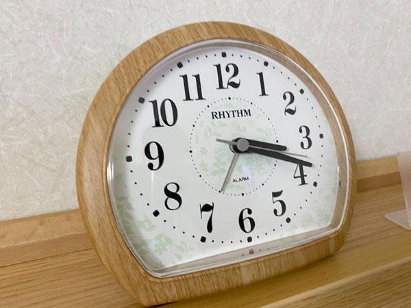 【ABホテル堺東】目覚まし時計
