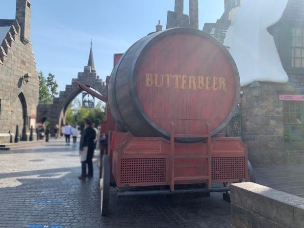 バタービールのフードカー
