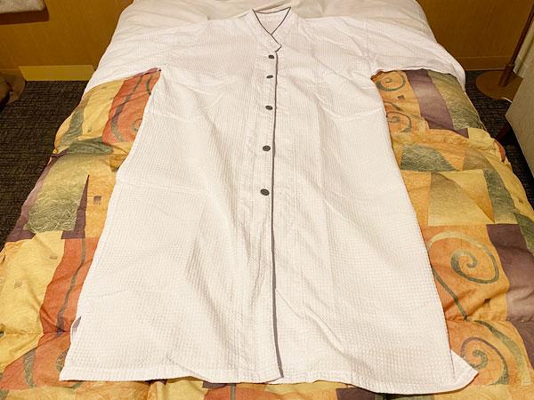 ホテルシーガルてんぽーざん大阪のパジャマ