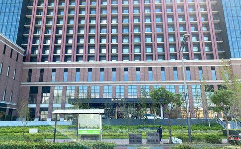 リーベルホテル正面からの写真