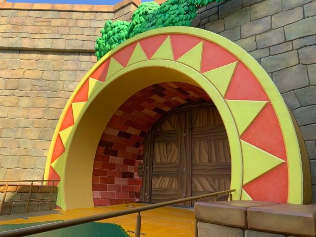 ニンテンドーワールドの奥の扉