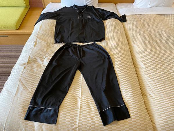 カンデオホテルズ大阪なんばのパジャマ