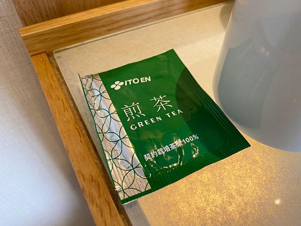 カンデオホテルズ大阪なんばの煎茶