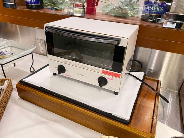 トースター(ホテル日航大阪セリーナのランチブッフェ)