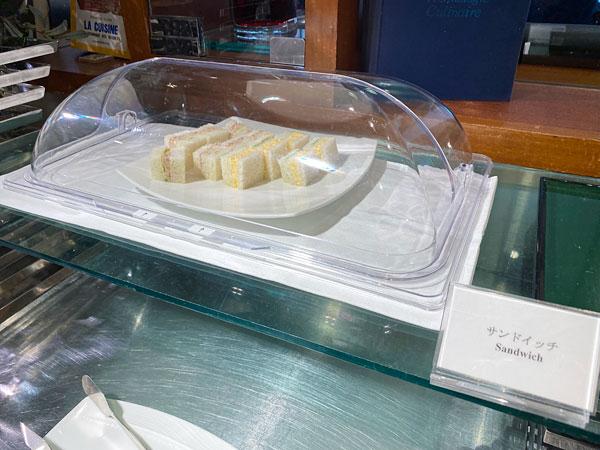 サンドイッチ(ホテル日航大阪セリーナのランチブッフェ)