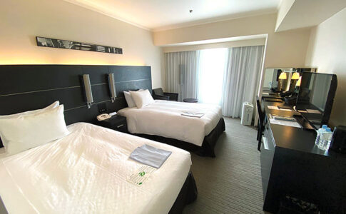 ホテル日航大阪の部屋の写真