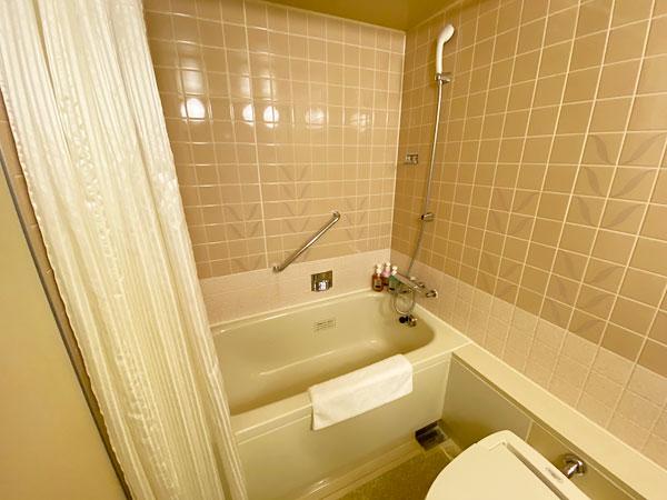 ホテル日航大阪のお風呂