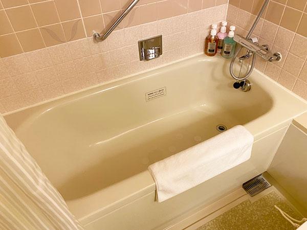 ホテル日航大阪の浴槽(バスタブ)