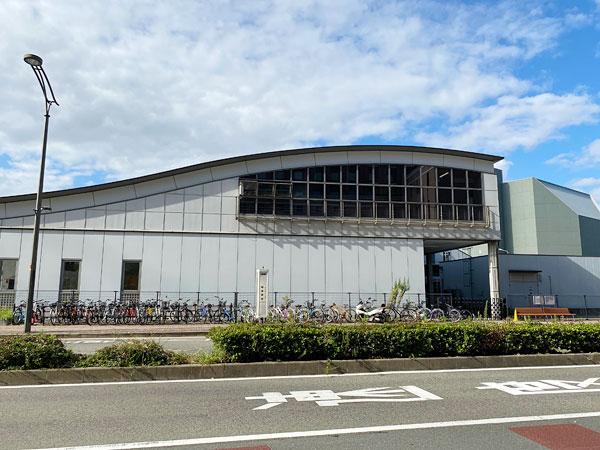 JR桜島駅前のバス停