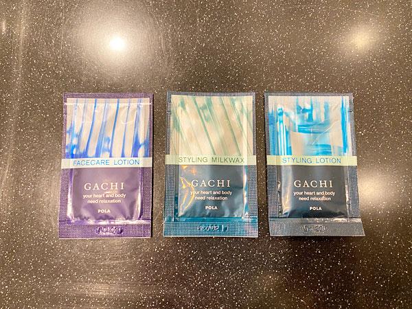 リーガロイヤルホテル大阪のアメニティ(男性用化粧品)