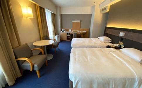 リーガロイヤルホテル大阪のウエストウイングツインルームの部屋