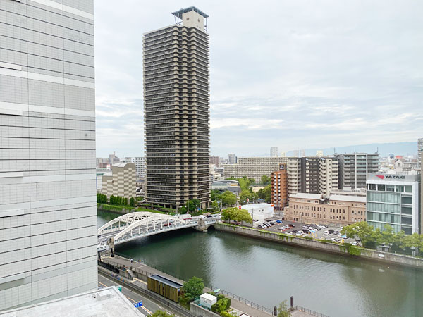 リーガロイヤルホテル大阪からの景色