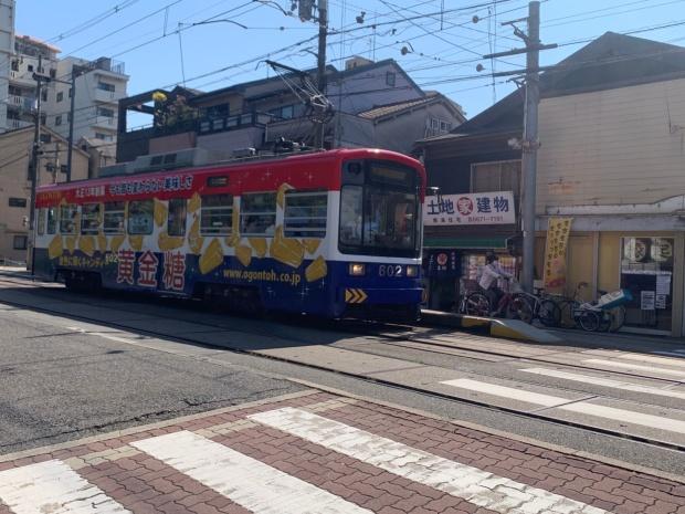 阪堺電車住吉鳥居前