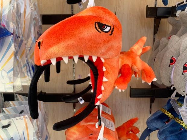 恐竜のカチューシャ