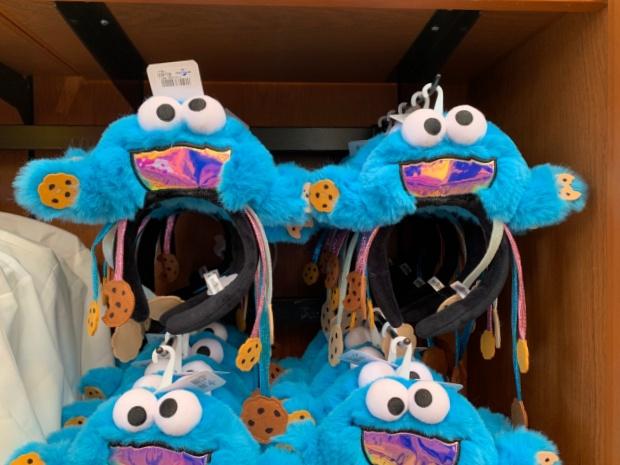 クッキーモンスターのカチューシャ