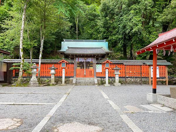 櫟谷宗像神社(松尾大社摂社)