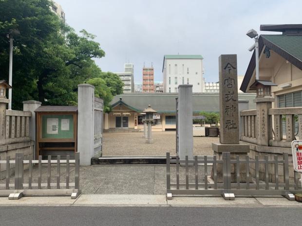 今宮戎神社の出入り口