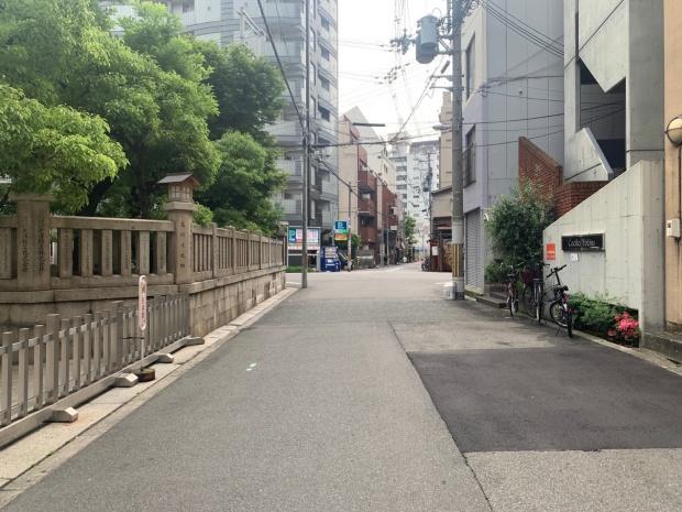 今宮戎神社までの道のり