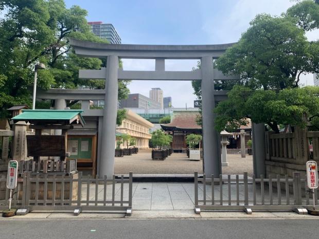 今宮戎神社の鳥居